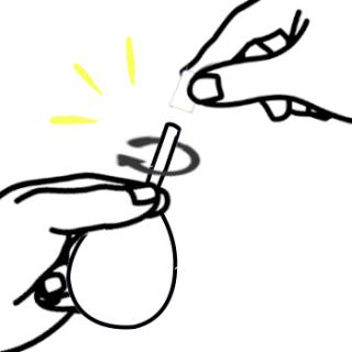 浣腸キャップの外し方